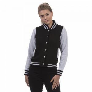 Dvispalvis moteriškas studentiškas džemperis