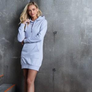 Moteriškas džemperis-suknelė
