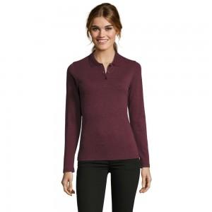 Moteriški polo-marškinėliai ilgomis rankovėmis