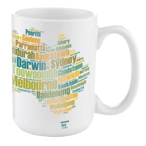 Keramikinis puodelis milžinas