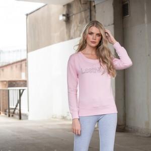 Moteriškas džemperis be gobtuvo