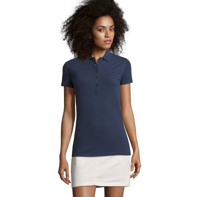 Moteriški polo marškinėliai su elastanu PHOENIX