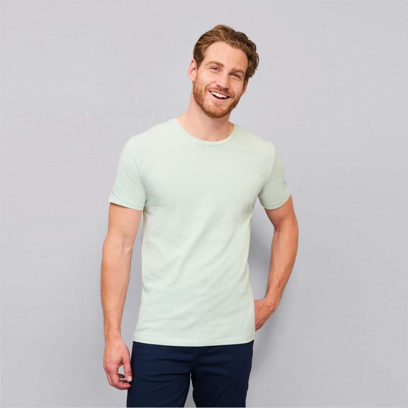 Priglude marškinėliai apvalia apykakle