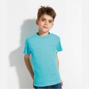 Marškinėliai vaikams apvalia apykakle | PrintShop.Lt