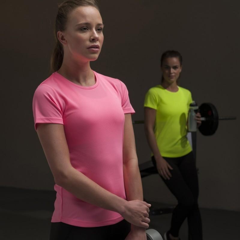 Moteriški sportiniai marškinėliai Cool T