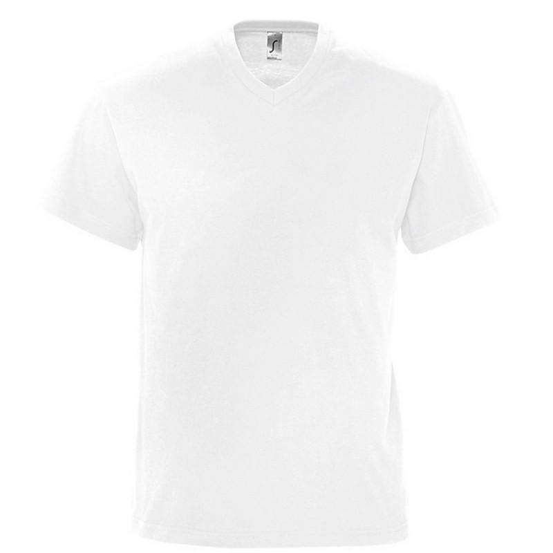 Marškinėliai vyrams V formos apykakle