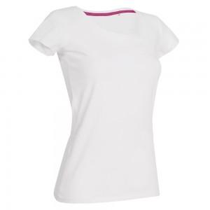 Moteriški marškinėliai  CLAIRE trumpomis rankovėmis
